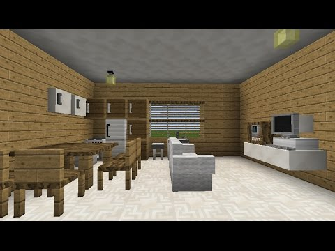 how to build minecraft furniture no mods