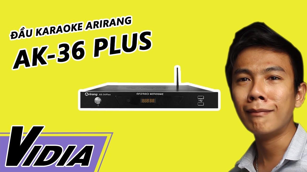 Đầu karaoke Arirang AK-36 Plus – Giá nhỏ công dụng to – Vidia 0902699186