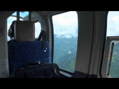 MY HELICOPTER FLIGHT FROM BAGDOGRA TO GANGTOK IN SIKKIM