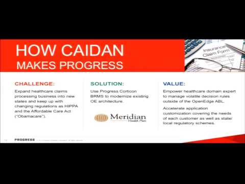 Introduction to Progress Corticon BRMS