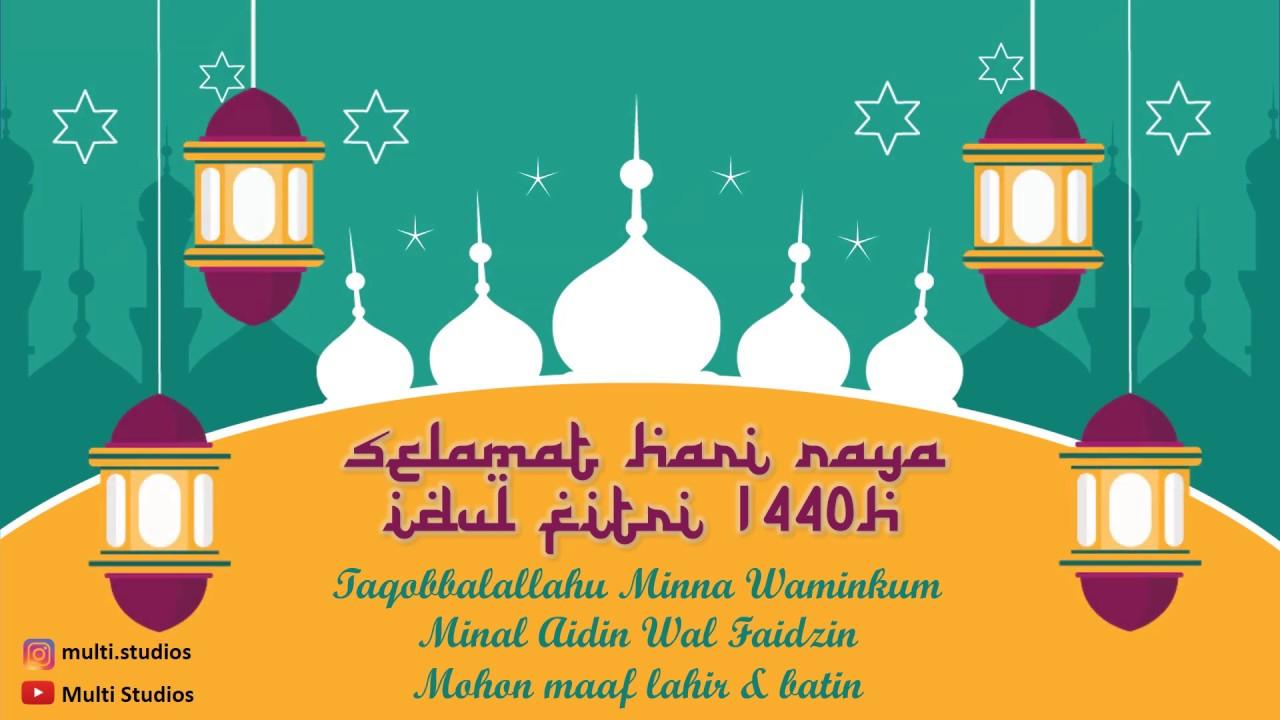Ucapan Selamat Hari Raya Idul Fitri Template Gratis Status Wa