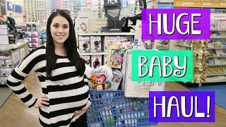 HUGE BABY SHOPPING TRIP AND 34 WEEK DOCTOR APPOINTMENT!