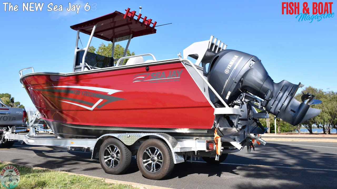 Sea Jay Boats NEW 670 Trojan HT & 630 Vision CC Preview