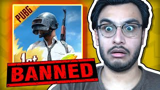 THEY BANNED PUBG AGAIN, MY REACTION (SUBREDDIT #2) | RAWKNEE