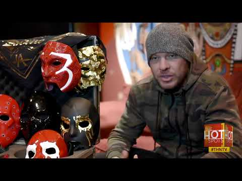 Hollywood Undead: Johnny 3 Tears Interview with DC Hot Spots