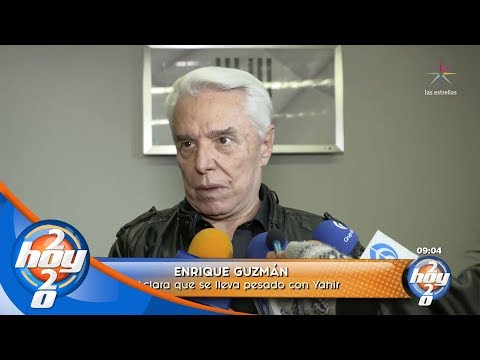 Enrique Guzmán dice porqué insultó a Yahir | Hoy