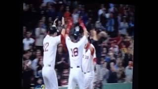 Boston RedSox jonny gomes grand slam