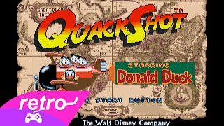 [Full GamePlay] Quackshot starring Donald Duck [Sega Megadrive/Genesis]