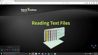 Text Files I/O