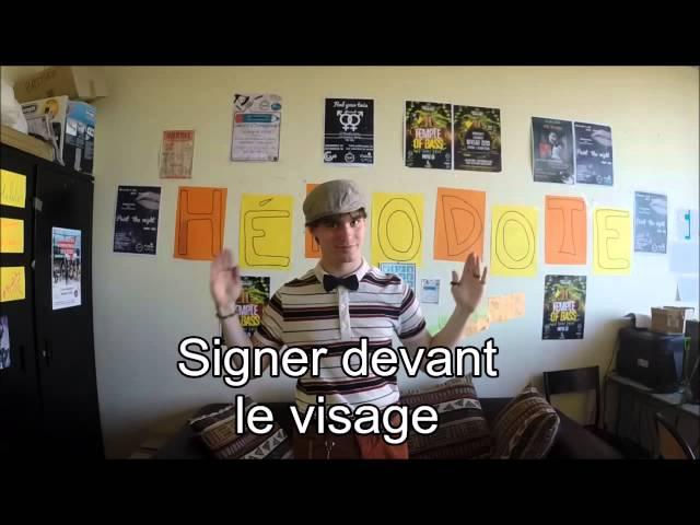Langue des Signes Française - Leçon n°1