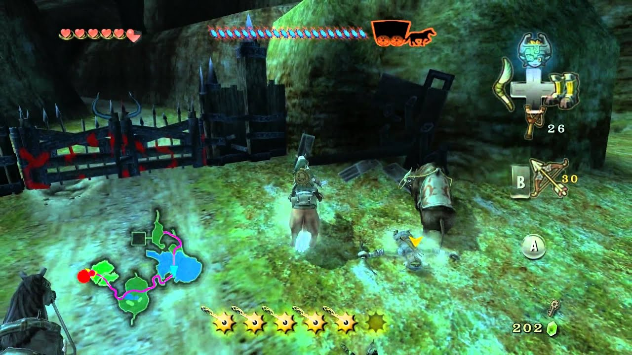 チャート トワイライト プリンセス 攻略 の ゼルダ 伝説 完全!ゲーム攻略ガイド「ゼルダの伝説 トワイライトプリンセス」