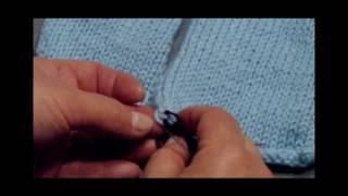 Болеро. Урок 5  Сборка изделия  Трикотажный шов