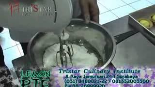 Kursus Membuat Lemon Pie - Aneka Cup Cake - Info : 0813 3200 3300