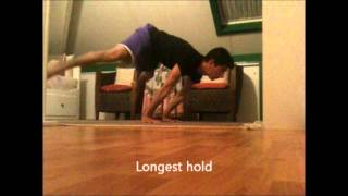 Straddle Planche + Front-Lever Pull-Ups Progress