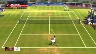Virtua Tennis 3 Monfils vs King