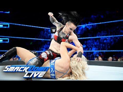 Charlotte Flair vs. Ruby Riott: SmackDown LIVE, Dec. 12, 2017