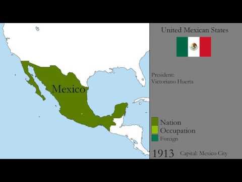 History of Mexico: 1821-2017