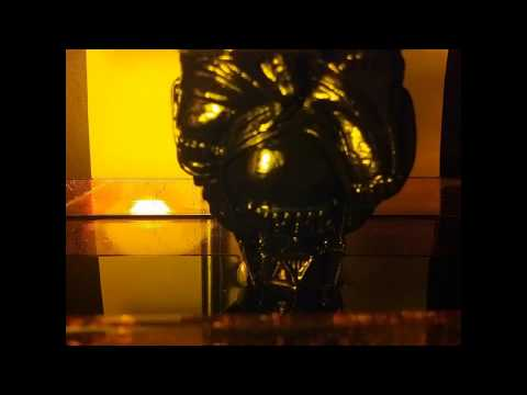 3D Printed Darth Vader Buddha TimeLapse Resin DLP/SLA Printer | 3D Facture Draken 3D Printer