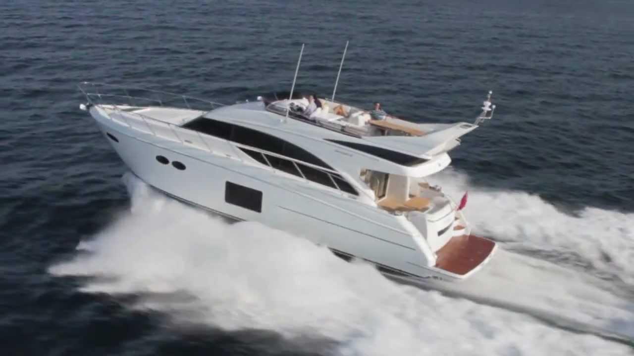 Princess 56 Flybridge Motor Yacht YouTube