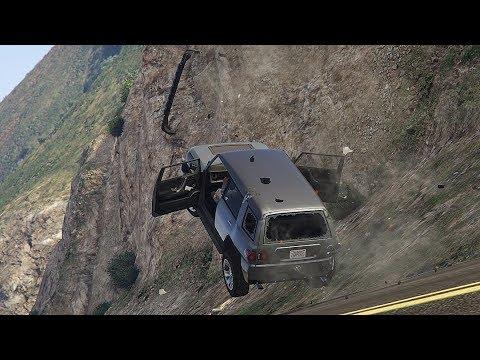 GTA 5 INCREDIBLE CAR CRASHES COMPILATION!!! thumbnail