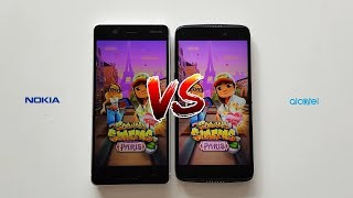 Nokia 5 vs. Alcatel Idol 5s SPEED TEST - Which is Faster?