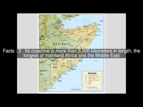Geography of Somalia Top  #5 Facts
