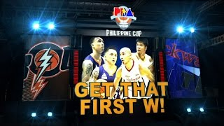 HIGHLIGHTS: Blackwater vs. Meralco | Philippine Cup 2015-2016