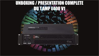 UNBOXING TEST T.AMP E400 V1