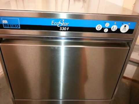 Meiko EcoStar 530F Front Loading Commercial Dishwasher - Forest ...