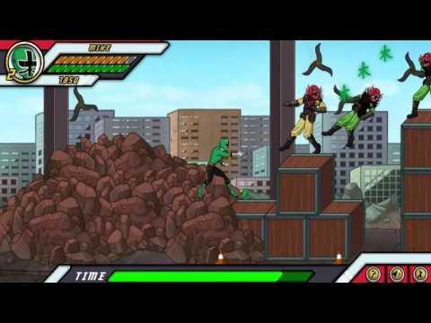 Игра Рейнджеры самураи битвы монстров онлайн, играть