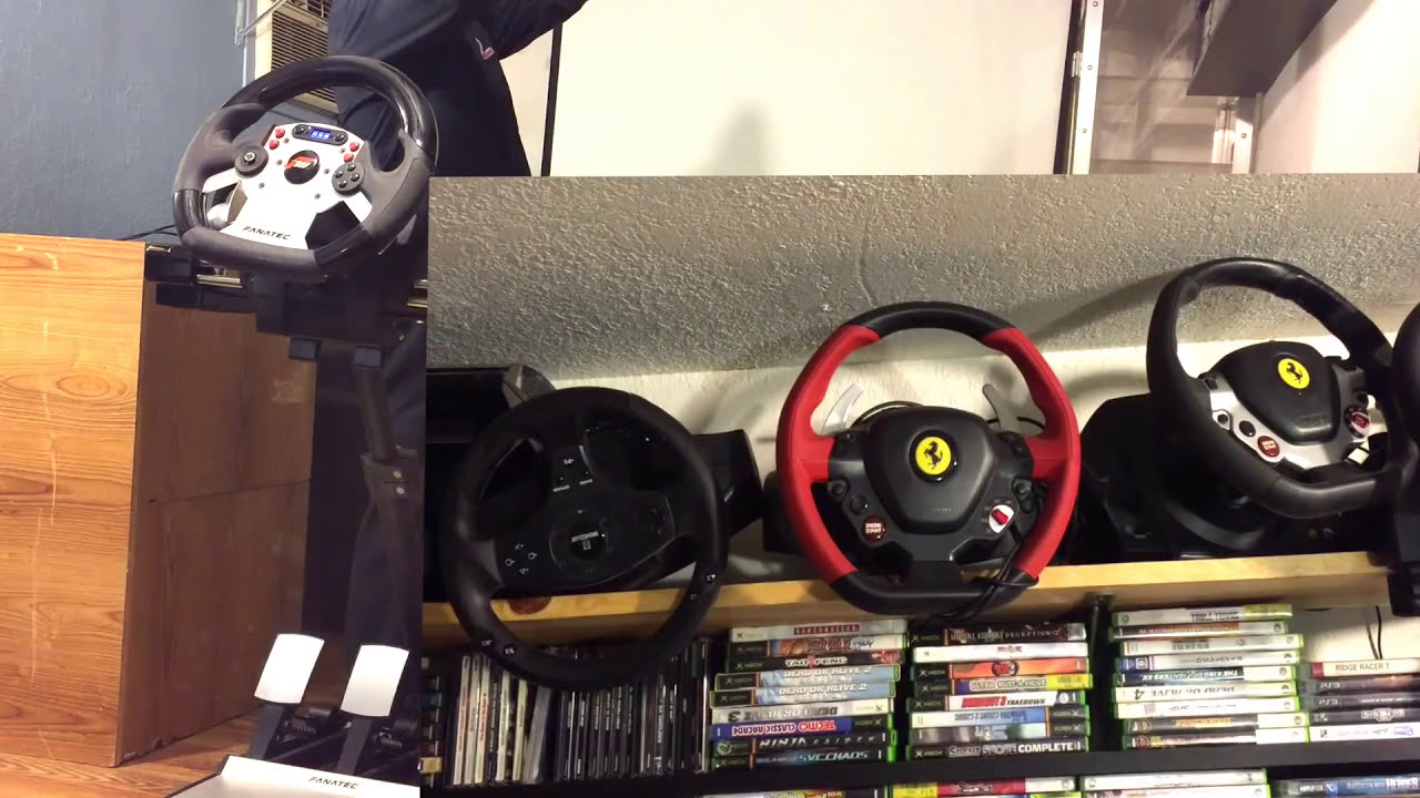 FANATEC CSR Wheel Test Review Plus Mancave Game Collection