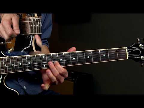 Eric Clapton Style 8 Bar Blues Lesson Podcast 122