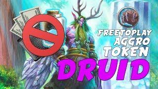 Free To Play Aggro Token Druid | Arrivare Legend con un deck da 1000 polveri
