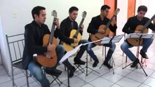 cuarteto de guitarras carpe diem plays ciranda roda roda by celso machado