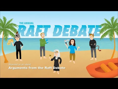 Arguments from W&M's 2018 Raft Debate