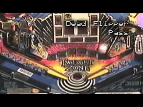 New Pinball Dictionary - Dead Flipper Pass