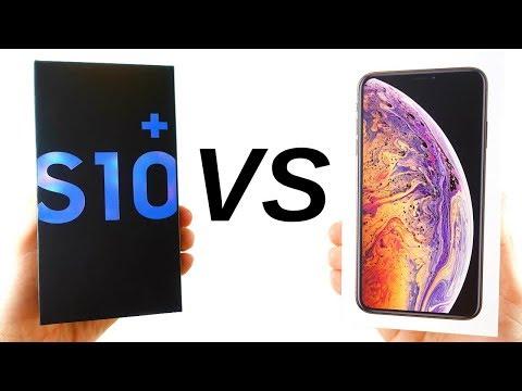 Galaxy S10 Plus Vs IPhone XS Max Full Comparison!