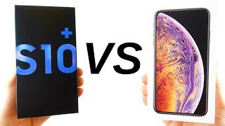 Galaxy S10 Plus vs iPhone XS Max Full Comparison!