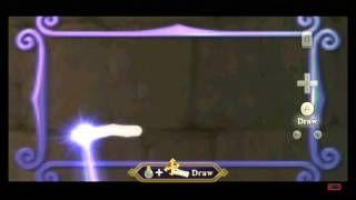 The most amazing triforce ever drawn in Skyward Sword!
