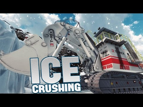 Giant Machines 2017 - Snow Removal, Ice Crushing & Radioactive Material! - Giant Machines Gameplay