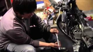 バイクの構造例:バイクの圧縮上死点の出し方。圧縮上死点って何?