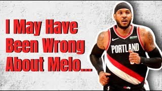 Is Carmelo Anthony REALLY Back?