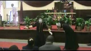 Jubilee Of Praise Rhema Mime Ministry - The Battle Is Not Yours