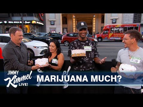 Jimmy Kimmel Guesses &39;Who&39;s High?&39;