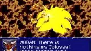 Super Robot Taisen Original Generations 2 - Wodan vs Wodan