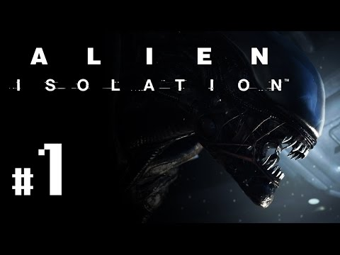 Alien: Isolation Gameplay #1 - Let's Play Alien Isolation German