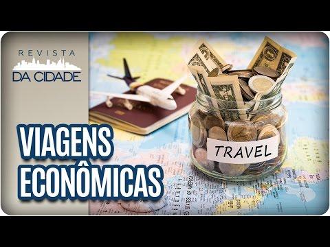 Como economizar na hora de viajar? - Revista da Cidade (11/04/2017)
