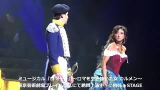 ミュージカル『ロマーレ』~ロマを生き抜いた女 カルメン~ 演出・振付:謝...