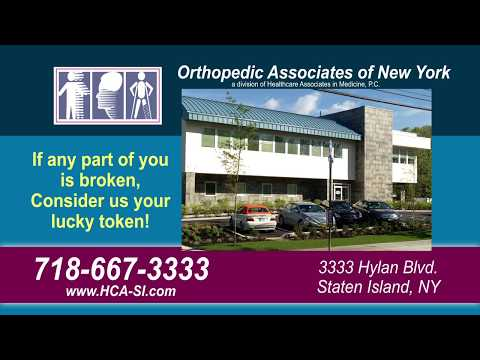 Orthopedic Walk-in Services At Healthcare Associates In