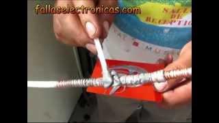 Como solucionar fuga de gas en tubería de retorno nevera